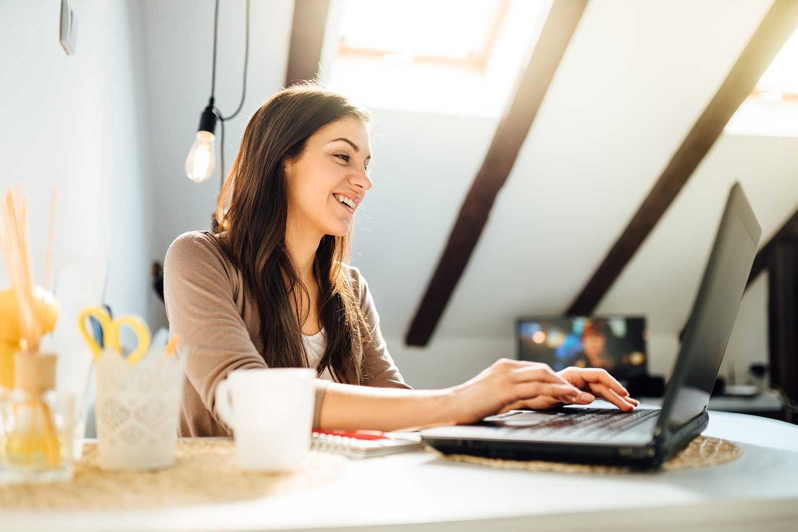 bigstock-Business-Woman-Working-From-Ho-358804015-min